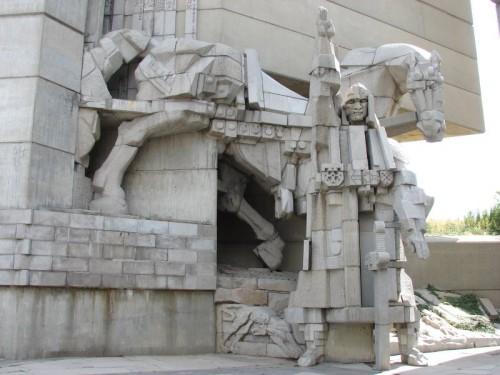 """Шумен - паметник """"Създатели на Българската държава"""""""